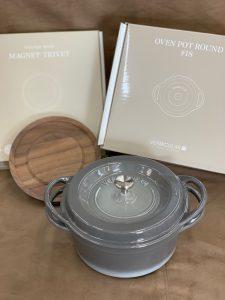 バーミキュラ オーブンポットラウンド+マグネットトリベット