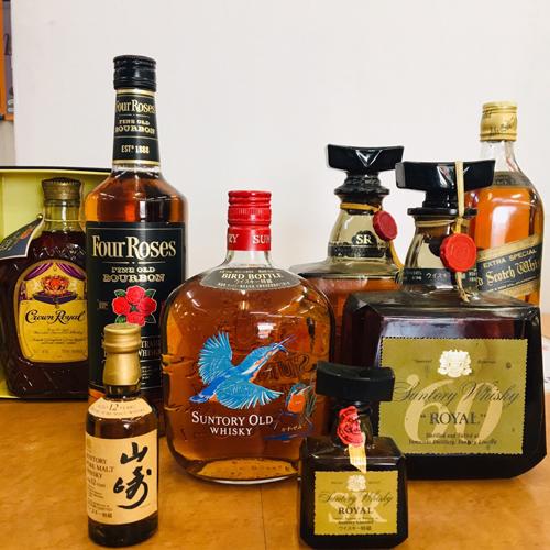 山崎12年、サントリーオールドなどウイスキー各種 買取りました【モノマニア朝日店】