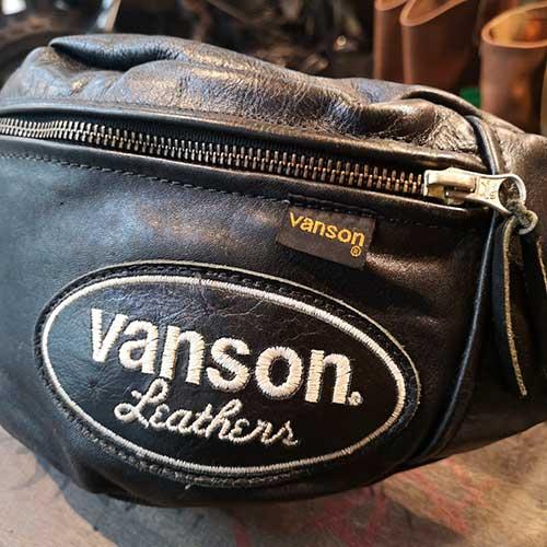 VANSON レザーウエストバッグ 買取りしました!【モノマニア朝日店】