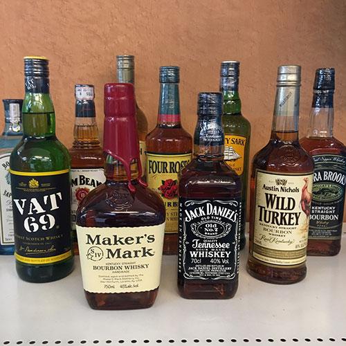 ジャックダニエルなどお酒色々買取りました【モノマニア朝日店】