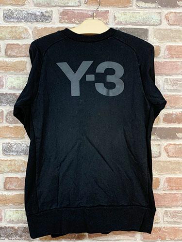 Y-3のロゴスウェットを買取致しました!【モノマニア朝日店】