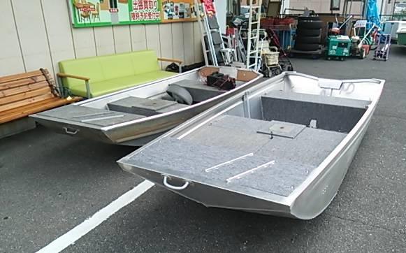 ボート アルミボート バスボート ゴムボート フィッシングボート カヤック カヌー 買取 無料査定 モノマニア もの創庫 もの倉庫