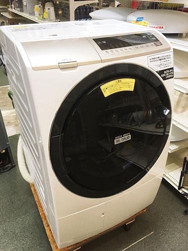 HITACHIのドラム式洗濯乾燥機を買取させて頂きました!【モノマニア朝日店】