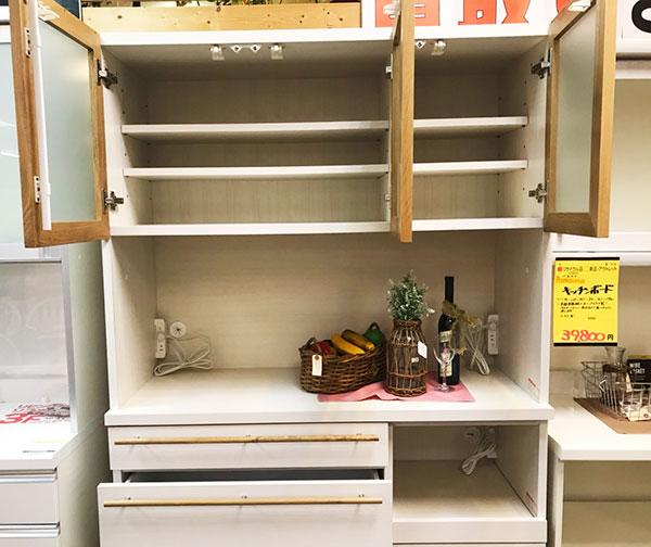 河口家具製作所のキッチンボード買取りました【モノマニア朝日店】