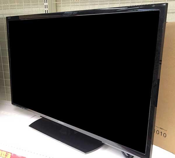 SHARPの32型(2015年製)テレビを買取させて頂きました!【モノマニア朝日店】