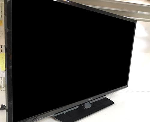 SHARPの32型(2019年製)テレビを買取させて頂きました!【モノマニア朝日店】