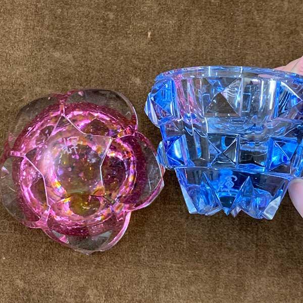 山田輝雄作 ガラス製香合 買取りました