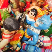 各社当時物のソフビ人形 買取りました【モノマニア朝日店】