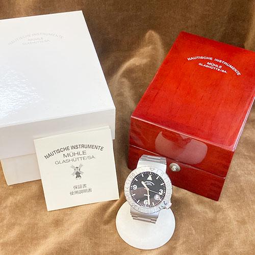 MUHLE GLASHUTTE 腕時計 買取りました【モノマニア朝日店】