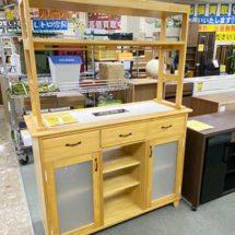 MOMO NATURAL 対面キッチンカウンター 買取りました【モノマニア朝日店】