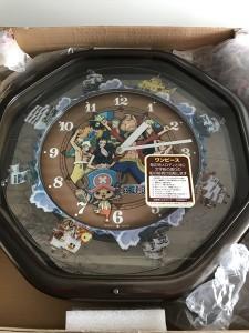 ワンピースカラクリ時計03