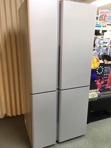 AQUA 4ドア冷蔵庫 買取りました【モノマニア朝日店】