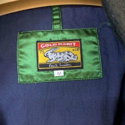 Paul Smith GOLD RABITのダウンジャケットを買取致しました!【モノマニア朝日店】