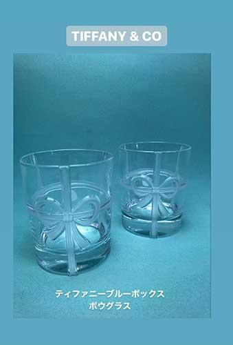 ティファニー ブルーボックスのペアグラスを買取させて頂きました【モノマニア朝日店】