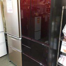 SHARPの6ドア冷蔵庫を買取りました【モノマニア朝日店】