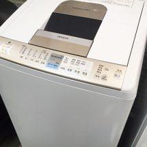 HITACHI 洗濯乾燥機 買取りました【モノマニア朝日店】